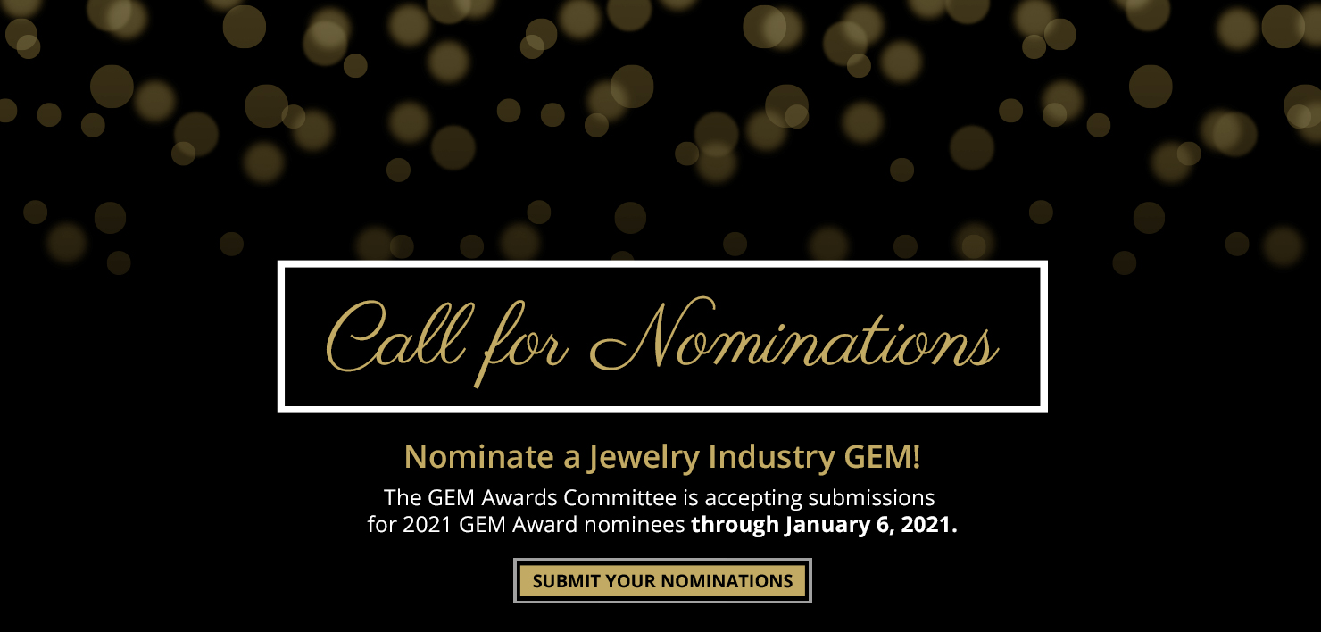 Nominate a GEM for the 2021 GEM Awards